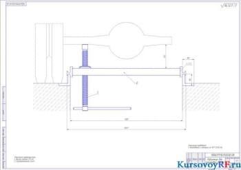 Проектирование механизма винтового домкрата