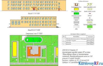 Курсовое проектирование трехэтажного кирпичного общественного здания