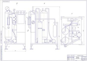 Реконструкция цеха по производству газированных напитков с модернизацией сатуратора Ока 2.12М2/1
