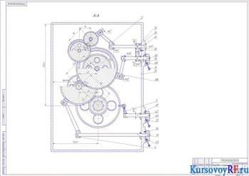 Модернизация токарно-винторезного станка модели 16Д25 путем улучшения привода движения скоростей и подачи станка