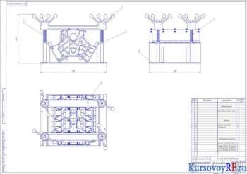Курсовое конструирование и разработка техпроцесса восстановления блока цилиндров КАМАЗ